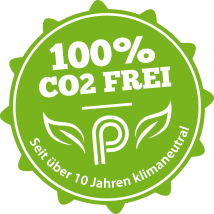 Pfeuffer - CO2 frei <br>und klimaneutral